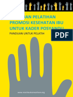Health Promotion Training Guideline for Trainer Indonesian Version for Web