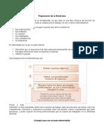 Preparacion de La Entrevista y Verificacion de Datos y Referencias