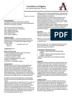 fall 2018 foundations of algebra syllabus - dombrowski
