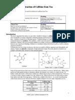 CH241 6 Caffeine Extraction F14