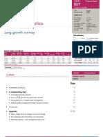Axis Capital- Mahindra Logistics Errclub Long Growth Runway (Initiate Coverage With BUY)