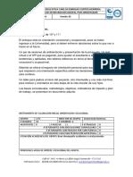 Analisis Oriencion Vocacion
