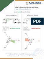 DirectionDOCRelays CheatSheet ValenceElectricalTrainingServices V1