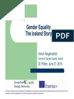 Igualdad de Género en Islandia