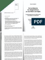 En la infancia los diagnosticos se escriben con lapiz. Gisela Untoiglich.pdf