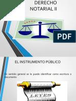 Presentacion de Derecho Notarial Ii1