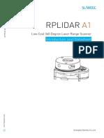 Rplidar a1m8 360 Degree Laser Scanner Development Kit Datasheet 1