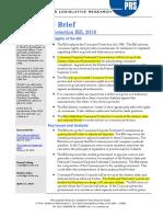 Legislative Brief - Consumer Protection Bill, 2018