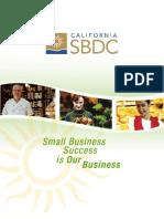 2010 California SBDC Program