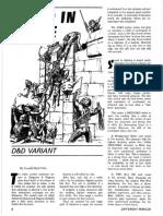D&D Variant - Speed in Melee