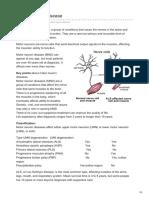 -motor Neuron Disease