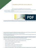 Importancia Del Material Didáctico en El Área de Matemáticas