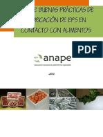 Guía de Buenas Prácticas de Fabricación de EPS en Contacto Con Alimentos