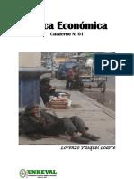 Cuaderno 01 de Politica Economica