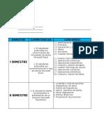 Plan Anual y Bimestral Segundo Basico
