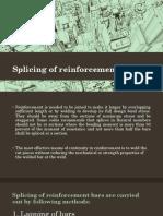 Splicing of Reinforcement Bars