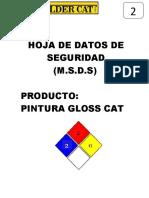 Formatos de Msds