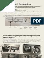 Inspección Diaria en La Firma Electrónica