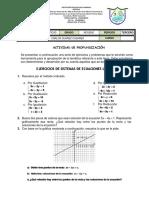 Problemas con Ecuaciones  Lineales