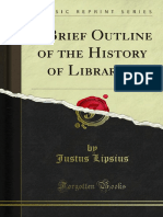A Brief Outline of the History of Libraries 1000176677