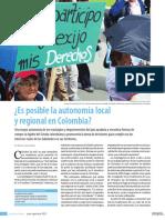 Autonomias Regionales Es Posible en Colombia