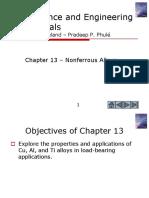 Non Ferous Alloys-CH13
