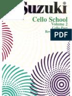 VIOLONCELO - MÉTODO - Suzuki Cello School - Volume 02 (1).pdf