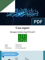 Case Report meningtis ppt