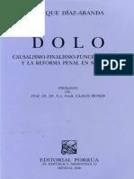 Enrique Díaz Aranda - Dolo, Causalismo, Finalismo y Funcionalismo.pdf