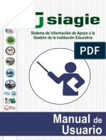 Siagie - Minedu Manual