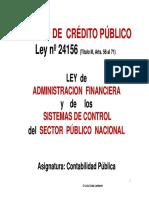 04 Ley 24156 Tit 3 Sistema Credito Publico