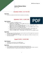 JNIOR Release Notes 4.5.1119.1103