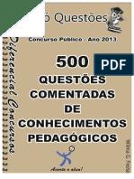 Kupdf.net 500 Questoes Comentadas Pedagogiapdf