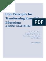 Core Principles of RI