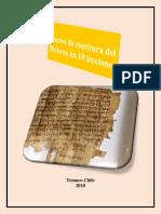 Alvarez, José Aharón - Curso de Escritura en Hebreo en 10 Lecciones (Hno Rodolfo Editor)
