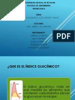 Indice Glúcemico