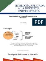 01.- Godoy, Paradigmas Teoricos Docencia