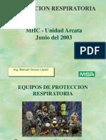 Prot Respiratoria 2003