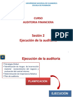 Auditoria Financiera - Sesion 2.1 Ejecución Dictado Ok