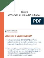 Taller Atencion Usuario Judicial