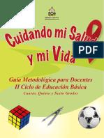 Cuidando Mi Salud y Mi Vida II Ciclo Educacion Basica
