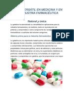 Industria de los comprimidos