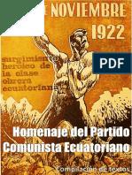 Homenaje 15 de Noviembre 1922 Ecuador