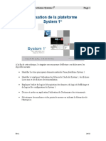 FR-164535 Using the System 1 Platform