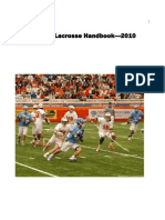 Lacrosse Fundamentals Manual
