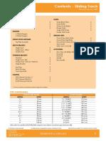 Downee Sliding Track Catalogue