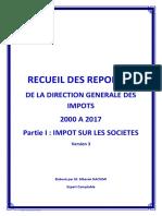 Recueil Questions Réponses DGI - IS -.pdf