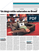 Tiago Dória no Estadão