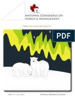 20th International Conference on Bear Research & Management