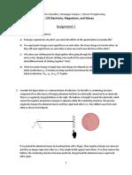 APSC 178 - Assignment 1